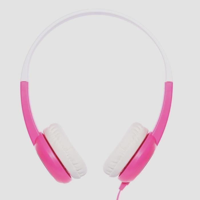 ONANOFF Casque Audio Buddyphones pour Enfant - Rose