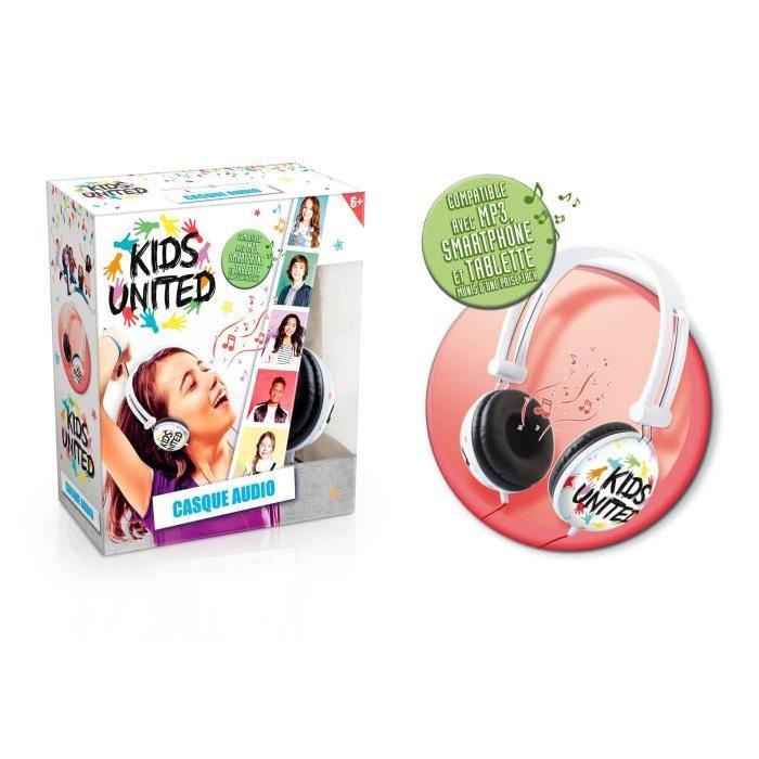 KIDS UNITED Casque Audio
