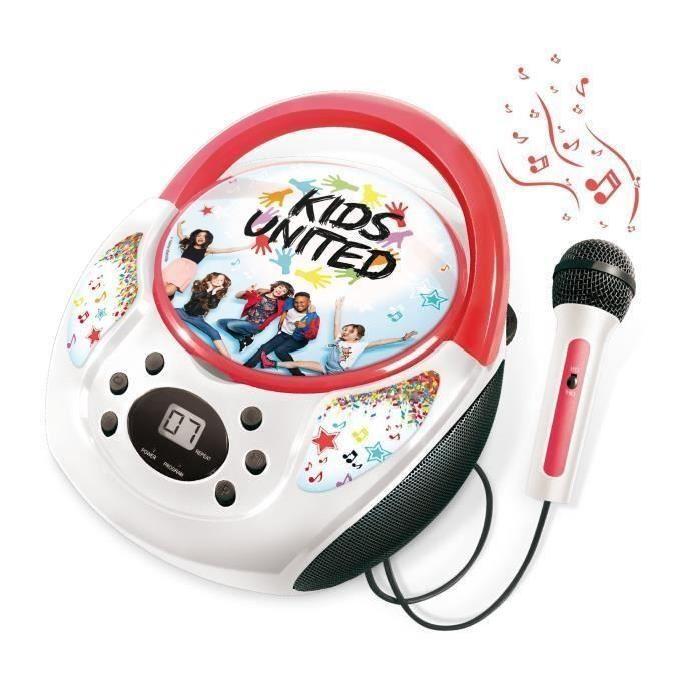 KIDS UNITED Boombox + Micro