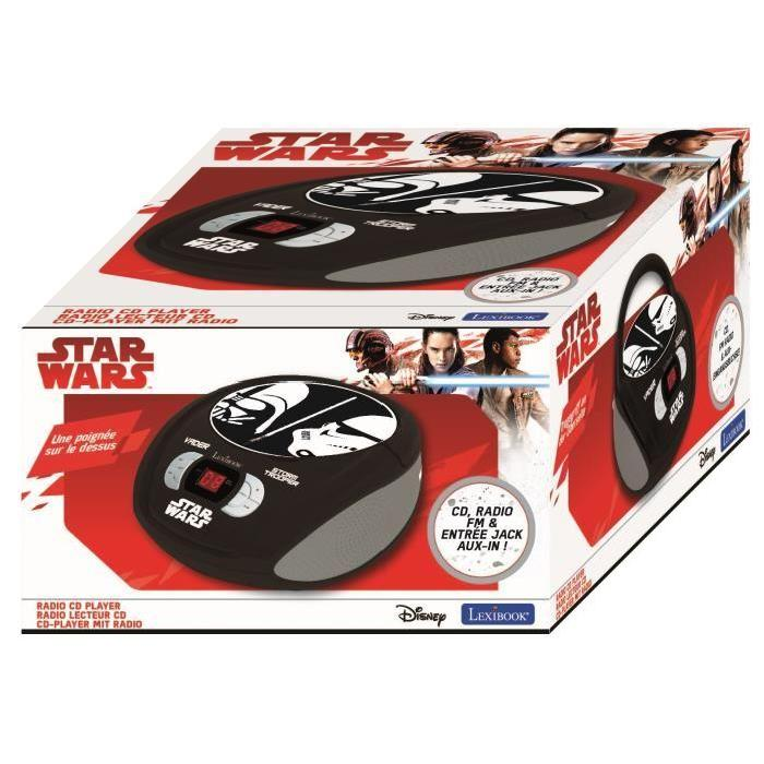 STAR WARS Radio lecteur CD