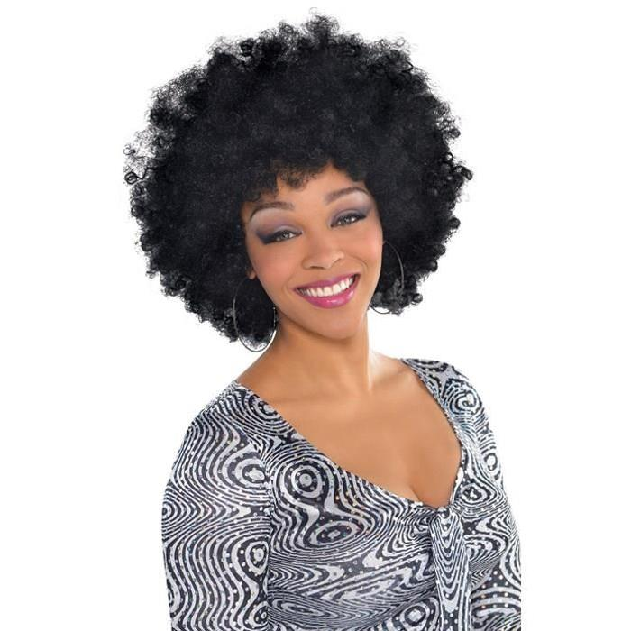 AMSCAN Perruque Afro Adulte
