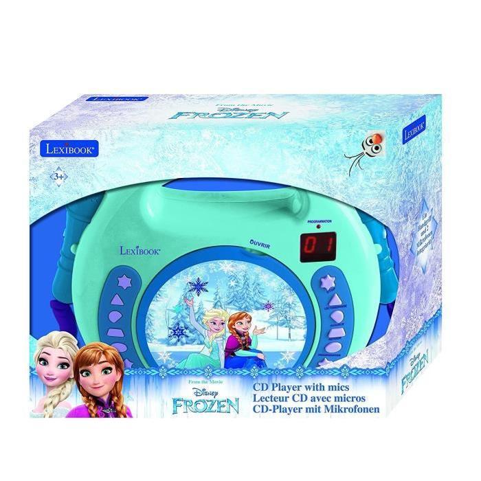 La Reine des neiges Lecteur Karaoke CD avec micros