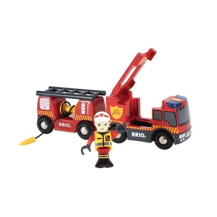 BRIO - Camion de Pompiers Son et Lumiere