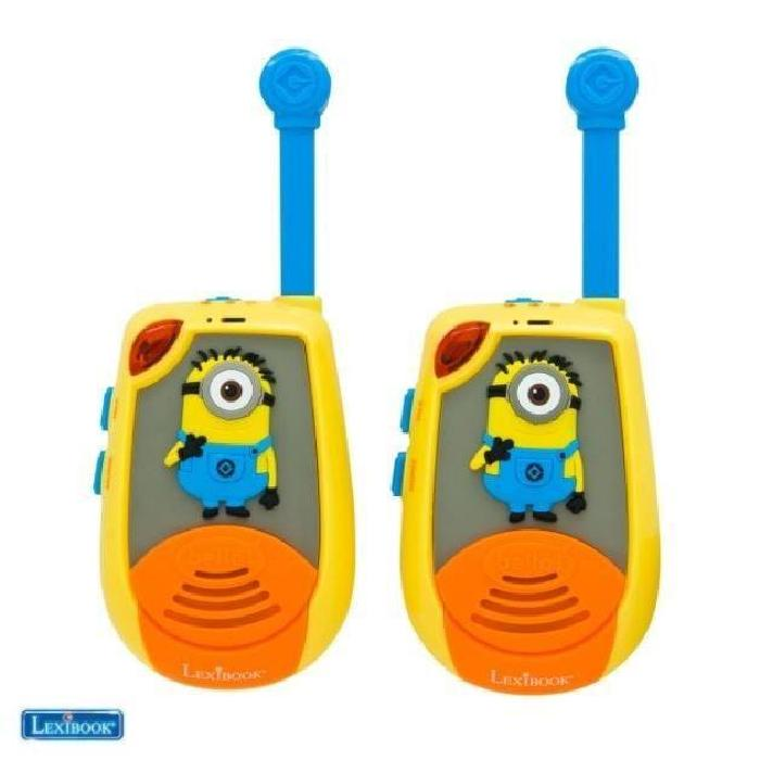 MINIONS Talkies Walkies 3D - 2kms