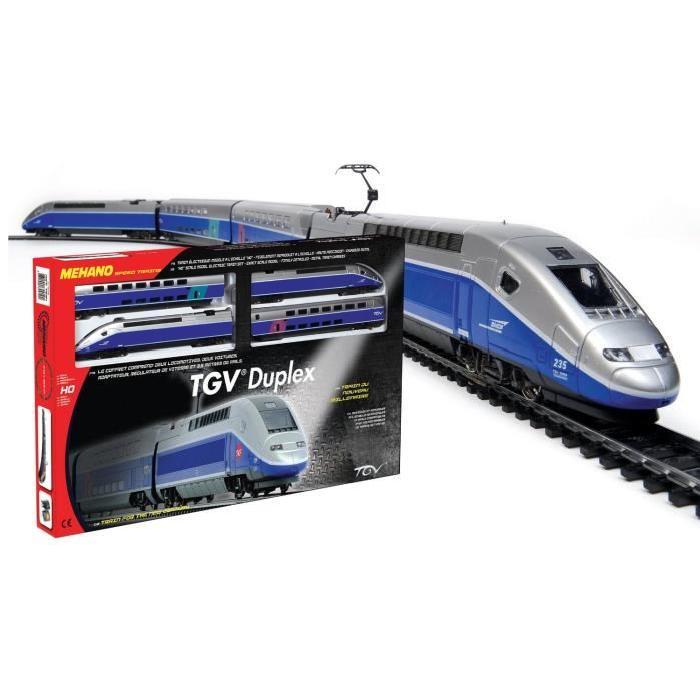 MEHANO Coffret circuit de Train électrique TGV Duplex