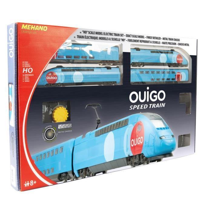 MEHANO Coffret circuit de Train électrique TGV Ouigo