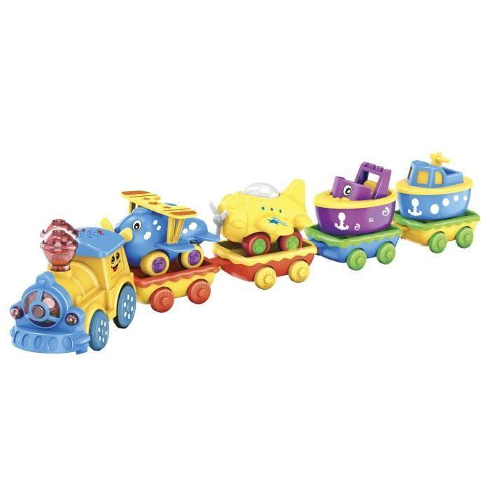 MGM Le Petit Train et Son Circuit - Les Vehicules