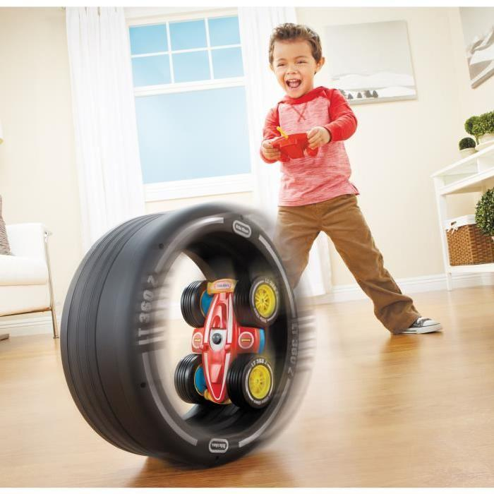 LITTLE TIKES Voiture Telecommandée Tire Twister