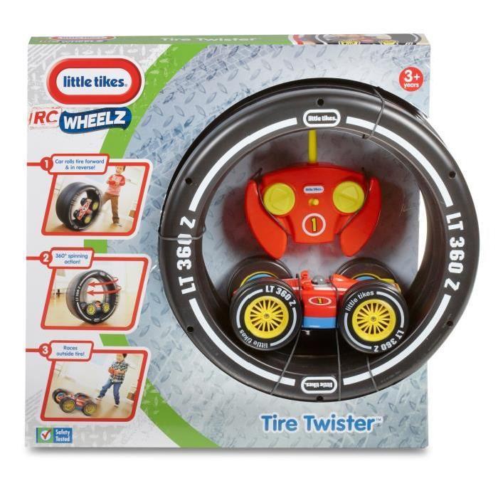 LITTLE TIKES Voiture Telecommandée Tire Twister