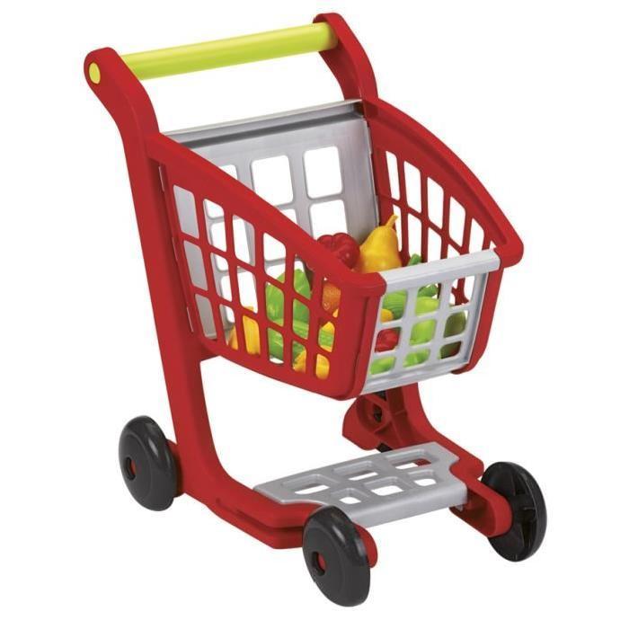 ECOIFFIER 100% CHEF Chariot Supermarché Garni