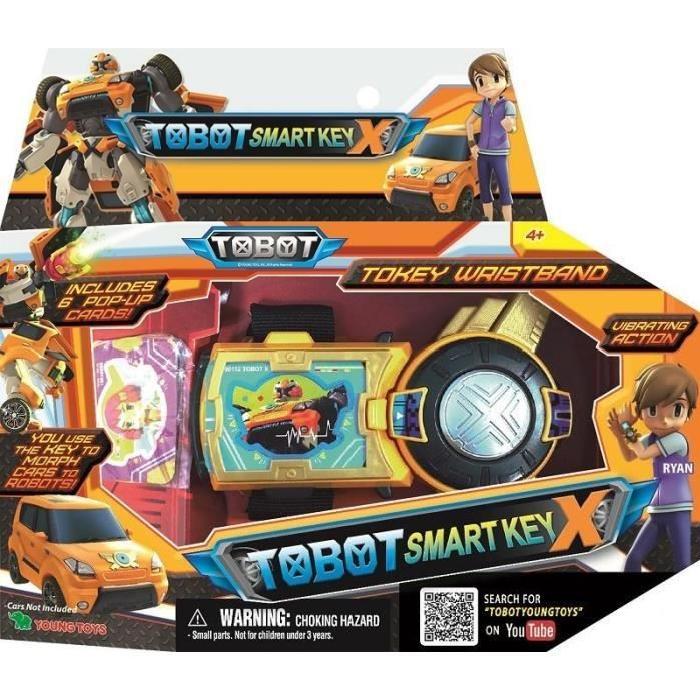 SILVERLIT Tobot Smart Key X - Bracelet de Commandes de Ryan