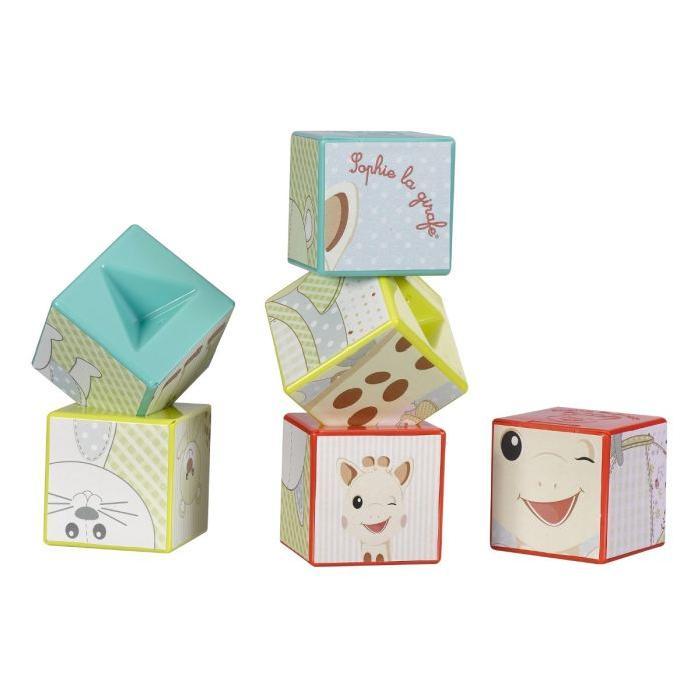 SOPHIE LA GIRAFE Puzzle Cubes Empilables