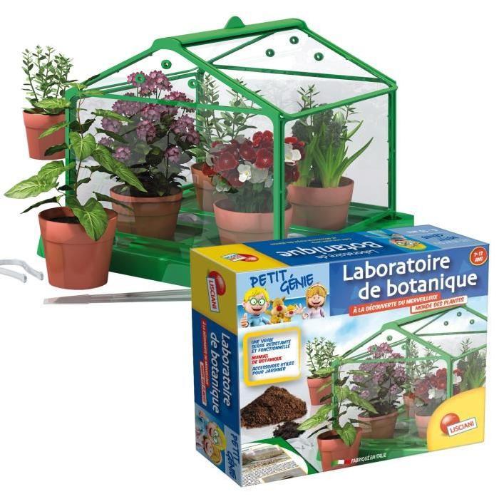 LISCIANI Petit Génie Le Laboratoire de la Botanique - Jeu Scientifique