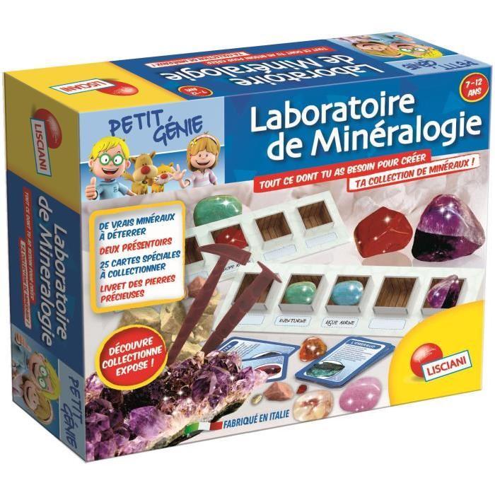 LISCIANI Petit Génie Laboratoire de Minéralogie - Jeu Scientifique
