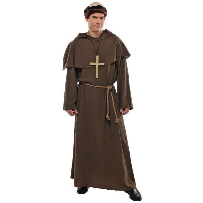 AMSCAN Costume Standard Homme - Moine