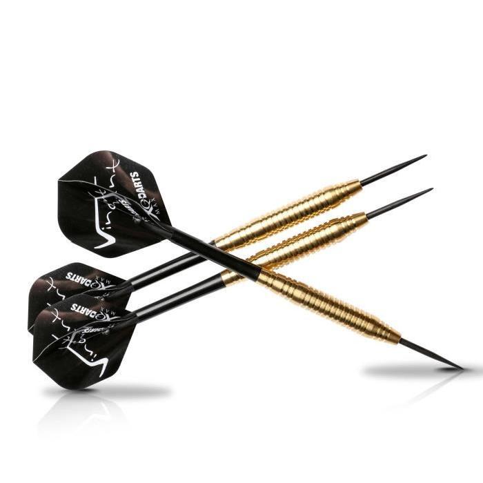 XQ Max Fléchettes de 20 grammes Vincent van der Voort - Pointe acier - 3 pieces