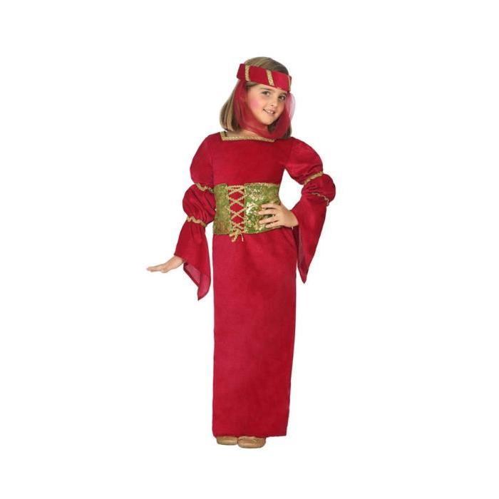 ATOSA Déguisement Dame Moyen-Age - Panoplie Enfant