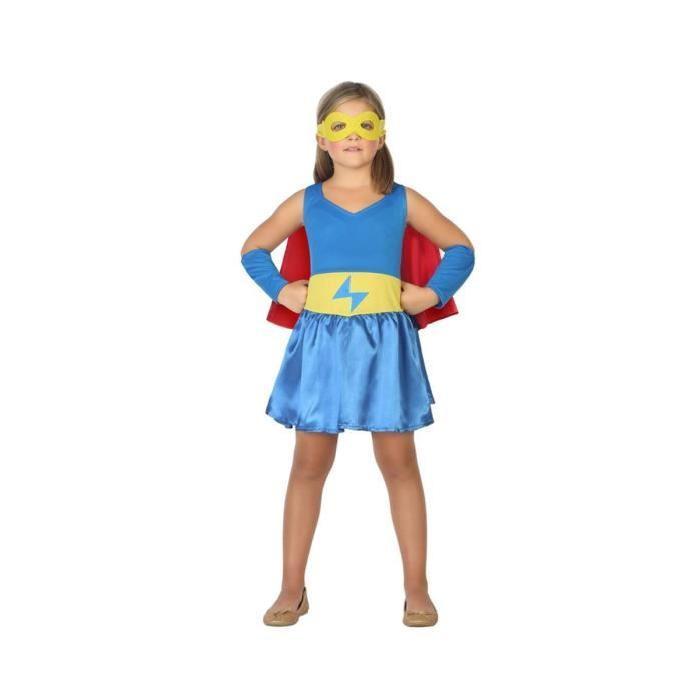ATOSA Déguisement Héro Comic Bleu - Panoplie Enfant