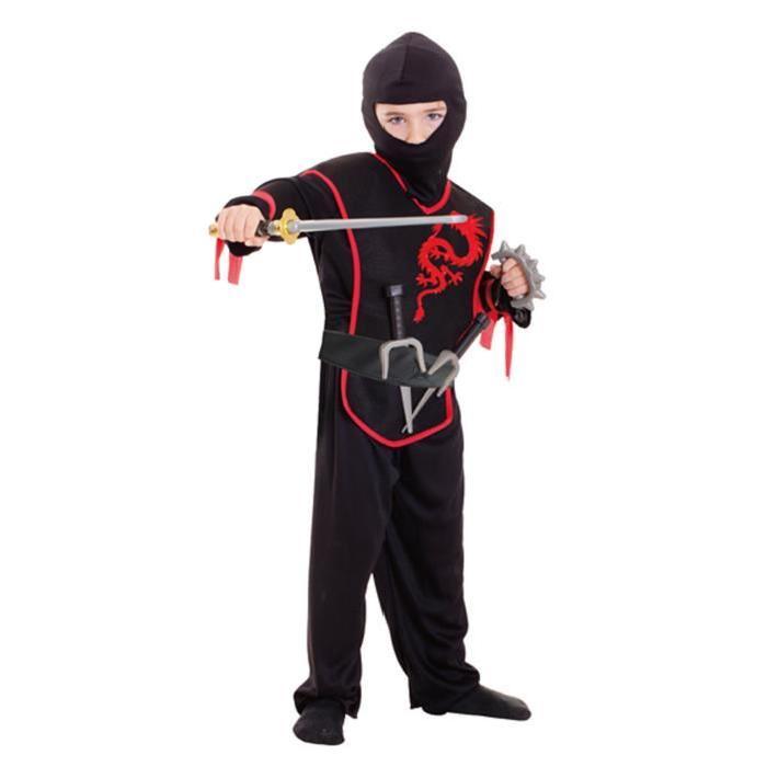 AMSCAN Costume Garçon + Accessoires - Ninja
