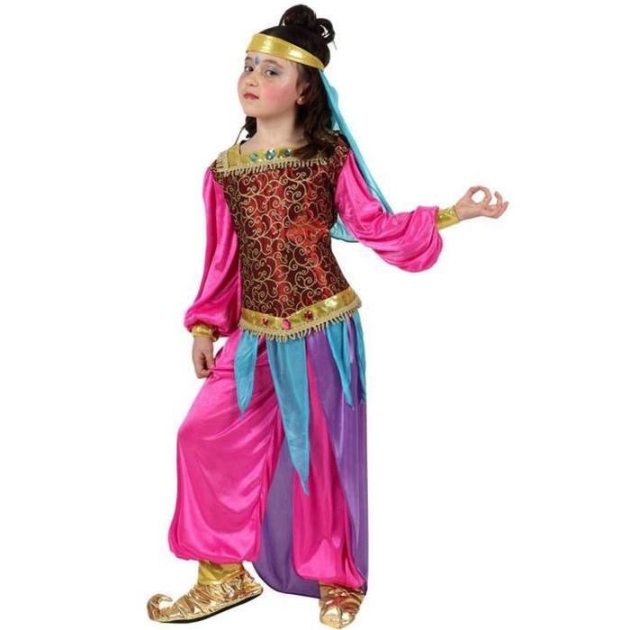 ATOSA Deguisement Danseuse Arabe Rose T1