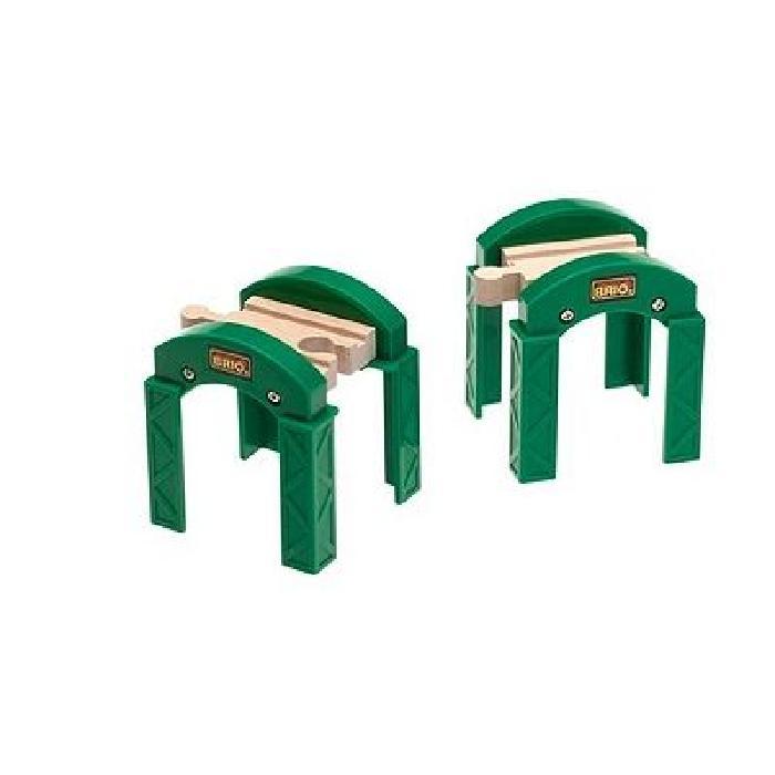 BRIO Supports de pont empilables