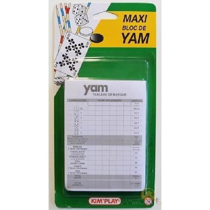 KIMPLAY 2 blocs de yam