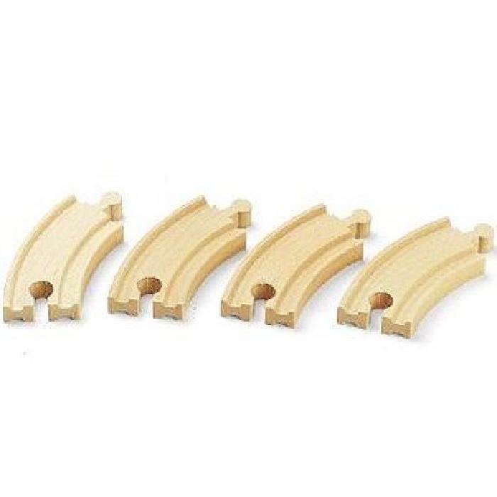 BRIO Petits rails courbes - 90mm
