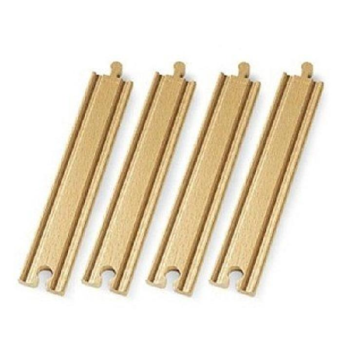 BRIO Rails droits longs - 216mm