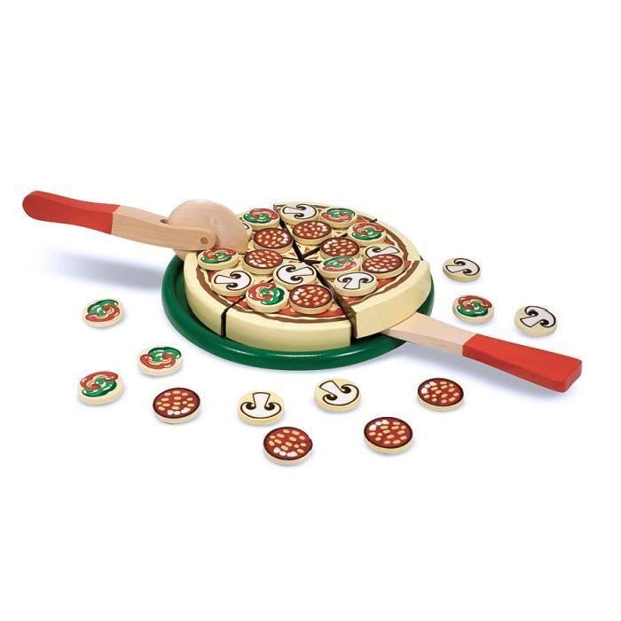 MELISSA & DOUG Pizza En Bois