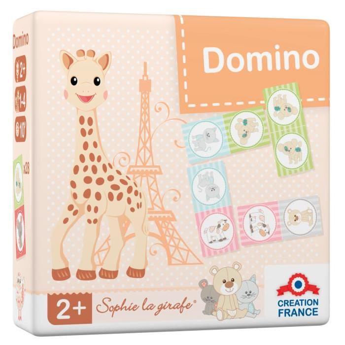 SOPHIE LA GIRAFE Domino - Jeu de Société