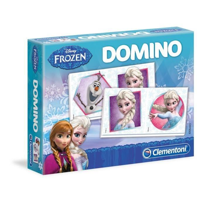 LA REINE DES NEIGES Domino