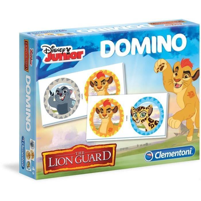 La garde du Roi Lion Domino de Clementoni