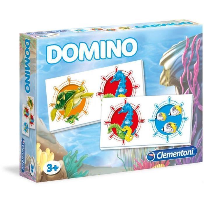 CLEMENTONI Domino Animaux de la Mer