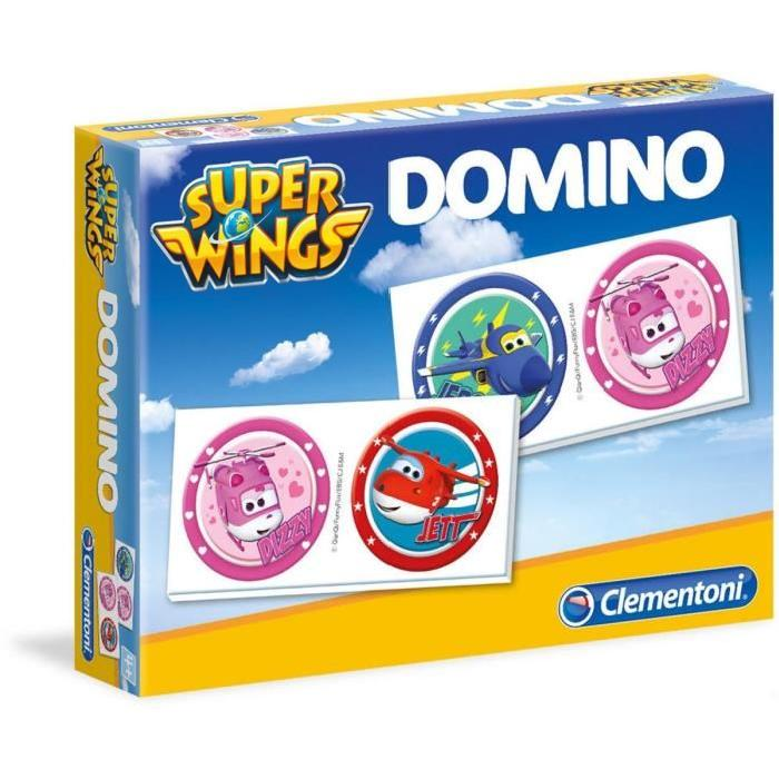 SUPER WINGS Domino Clementoni