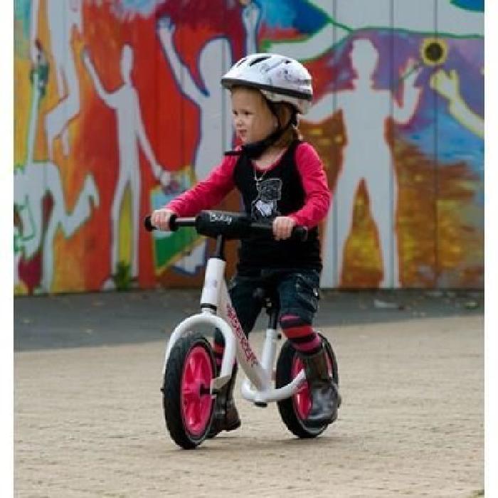 BERG Draisienne Enfant Pneu Caoutchouc Biky Blanc