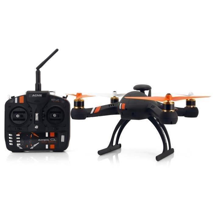 """ACME Drone avec GPS et Fonction retour """"Home"""" ZQE550 Zoopa Q Evo GPS RTF Quadrocopter"""