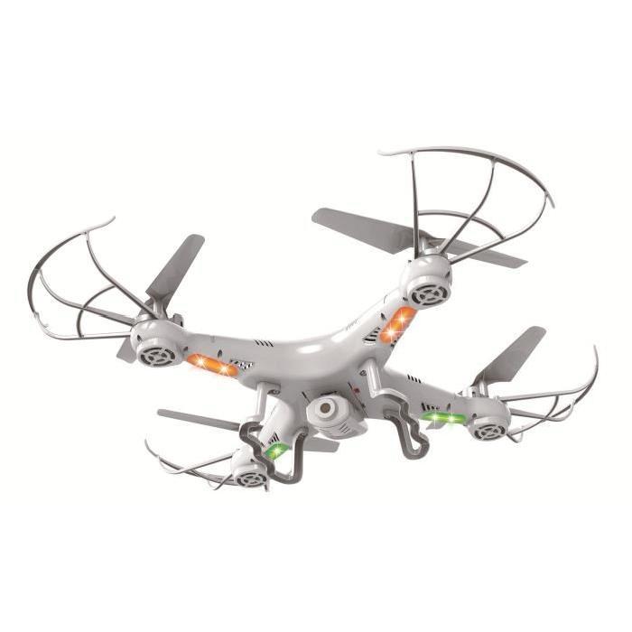 AKOR Drône altimetre - 4 hélices avec caméra 480 pixels