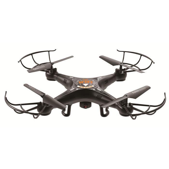 AKOR Drône et altimetre - 4 hélices avec caméra - 720 pixels - Wifi
