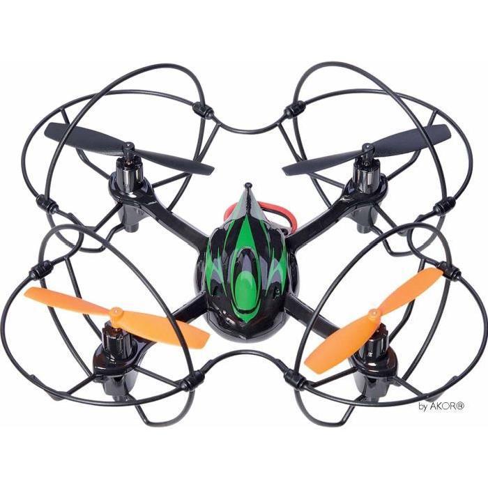 AKOR Drône - 4 Hélices 360° avec renforts