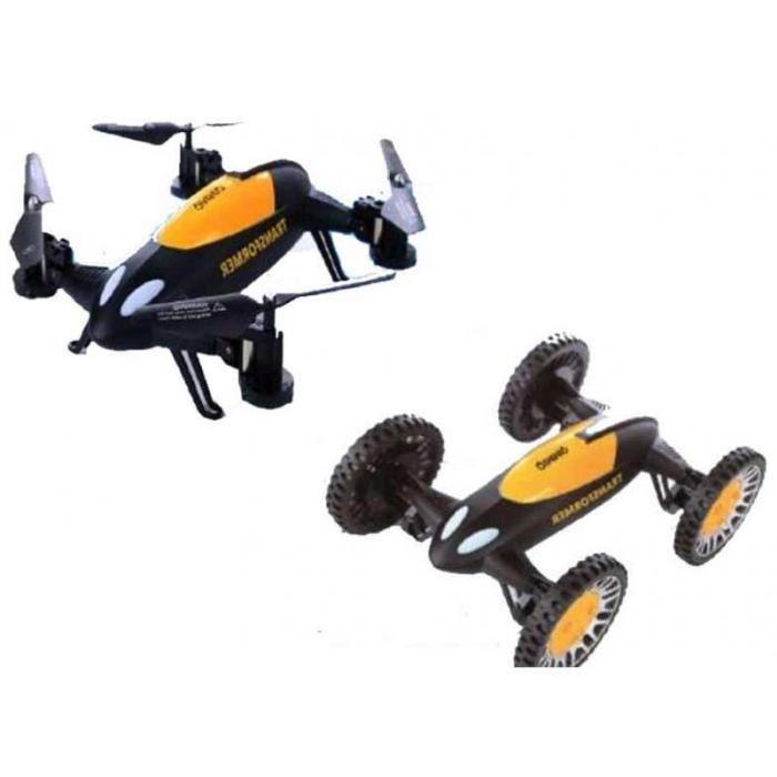 QIMMIQ Drone Transformer - Noir et orange