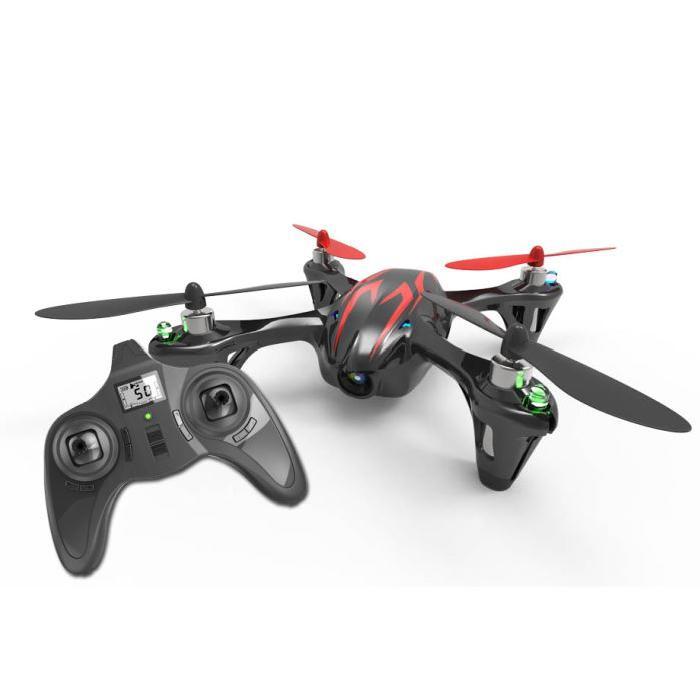 HUBSAN H107C-01 X4 CEMARE Mini Drone - Caméra HD intégrée