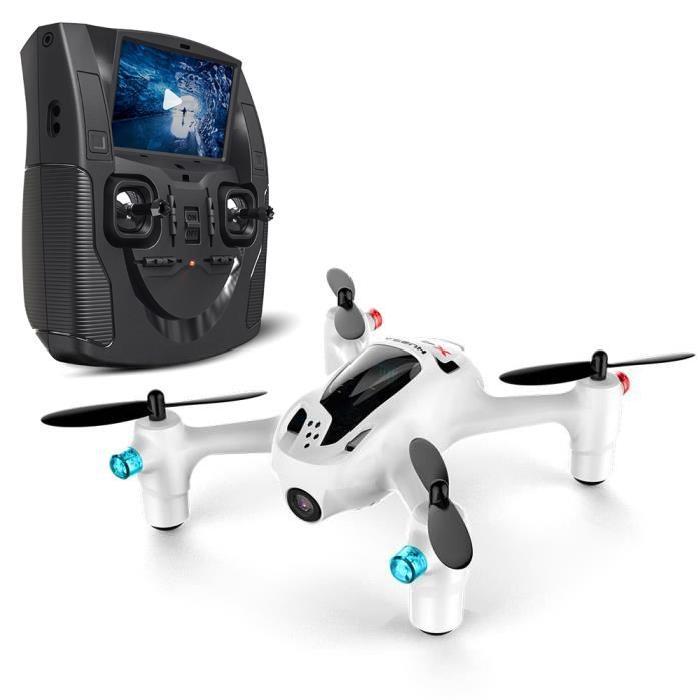 HUBSAN H107D+ FPV X4 PLUS Mini Drone - Caméra HD intégrée