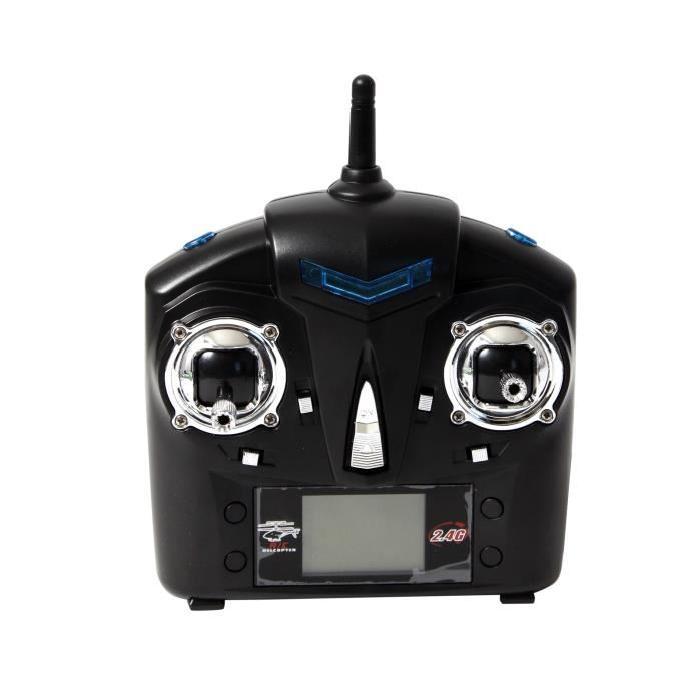 MGM Quadricoptere radiocommandé - Ecran LCD - 2.4 ghz