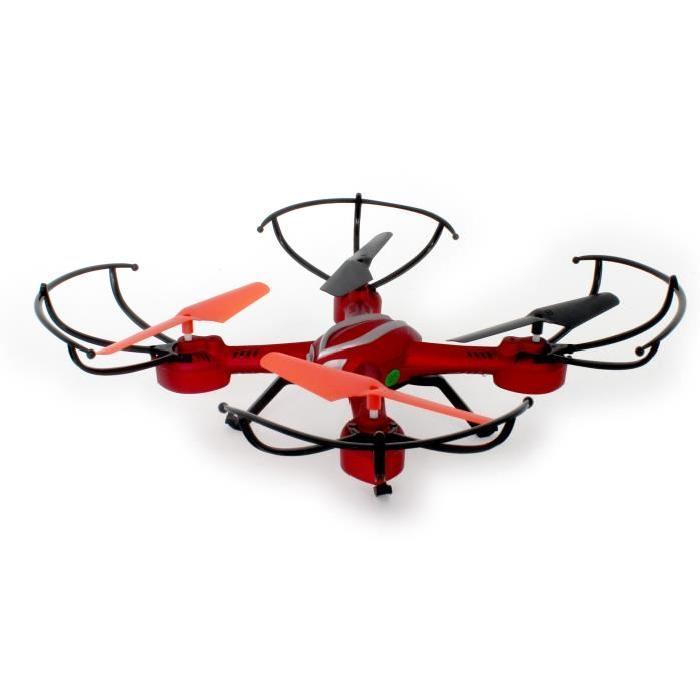 MGM Drone Quadrocoptere 2.4 GHZ avec Caméra Intégrée