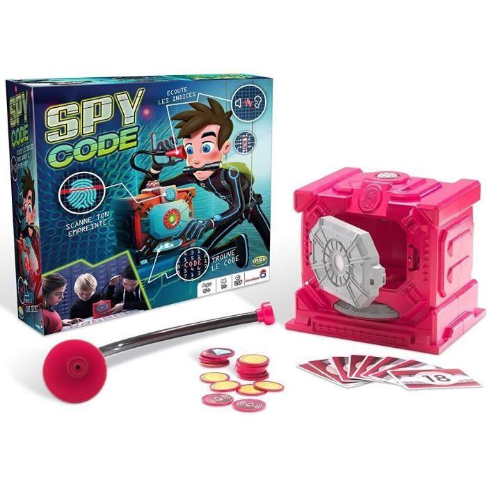 DUJARDIN Spy Code - Jeu d'Espion