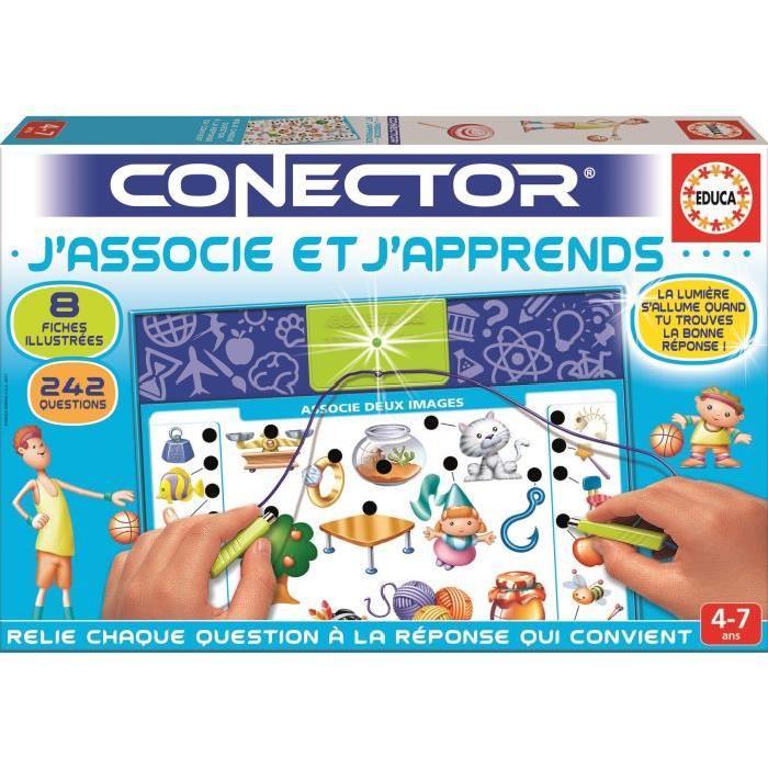 EDUCA Connector J'associe et J'apprends