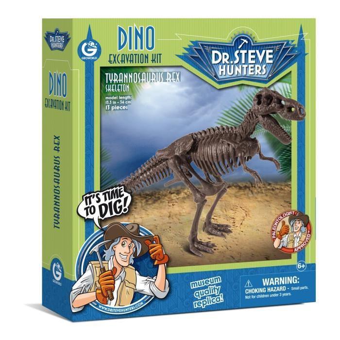 GEOWORLD Excavation Kit Dino - T Rex