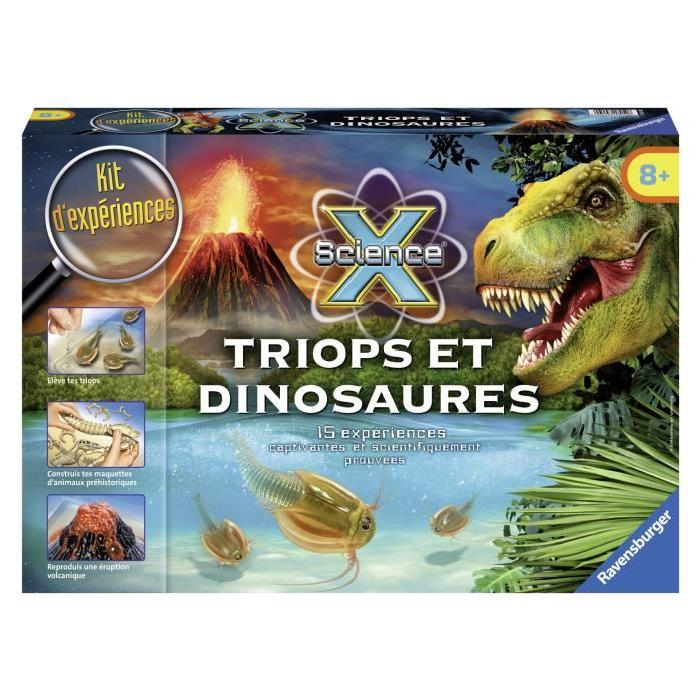 SCIENCE X RAVENSBURGER Triops & Dinosaures