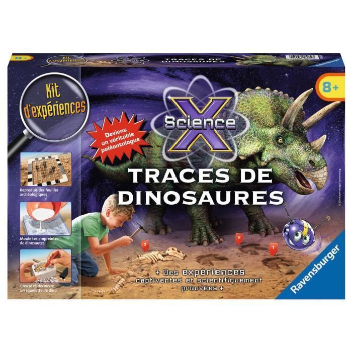 SCIENCE X RAVENSBURGER Traces de Dinosaures