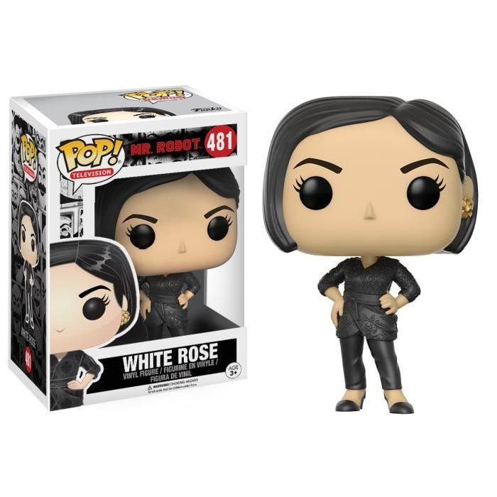 Figurine Funko Pop ! Mr Robot : White Rose